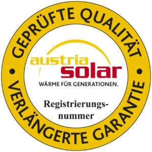 Austria Solar Gütesiegel