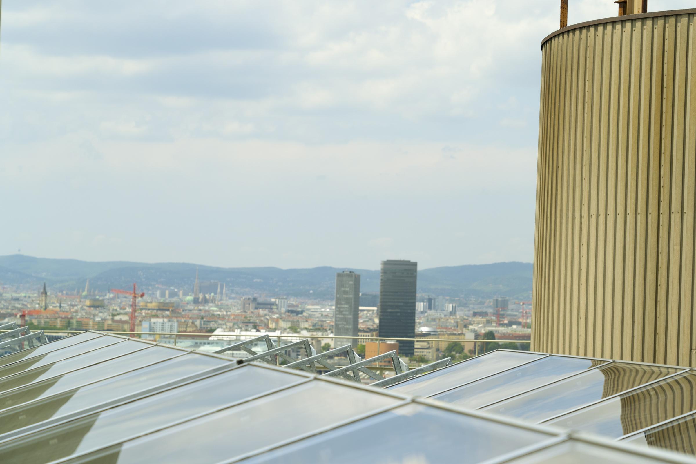 Wien Energie Dach Kollektoren GREENoneTECH