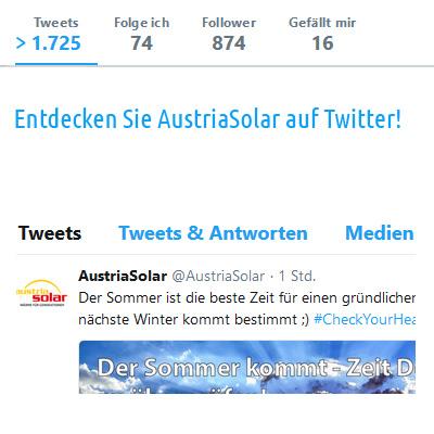 Austria Solar Twitter