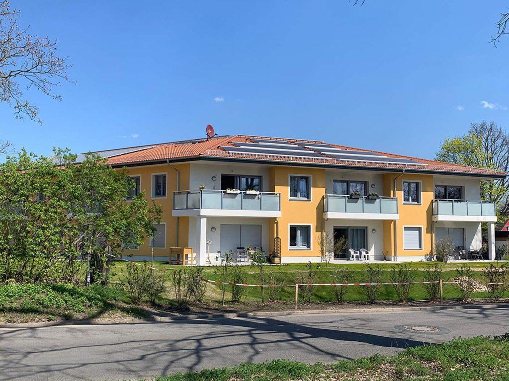 Wohnhaus in Neuruppin mit Solaranlage am Dach