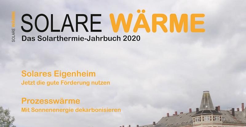 Titelseite des Jahrbuch Solarthermie