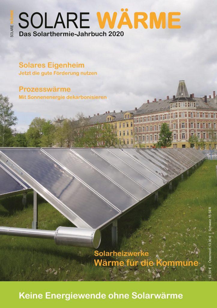 Titelseite Solarthermie-Jahrbuch 2020