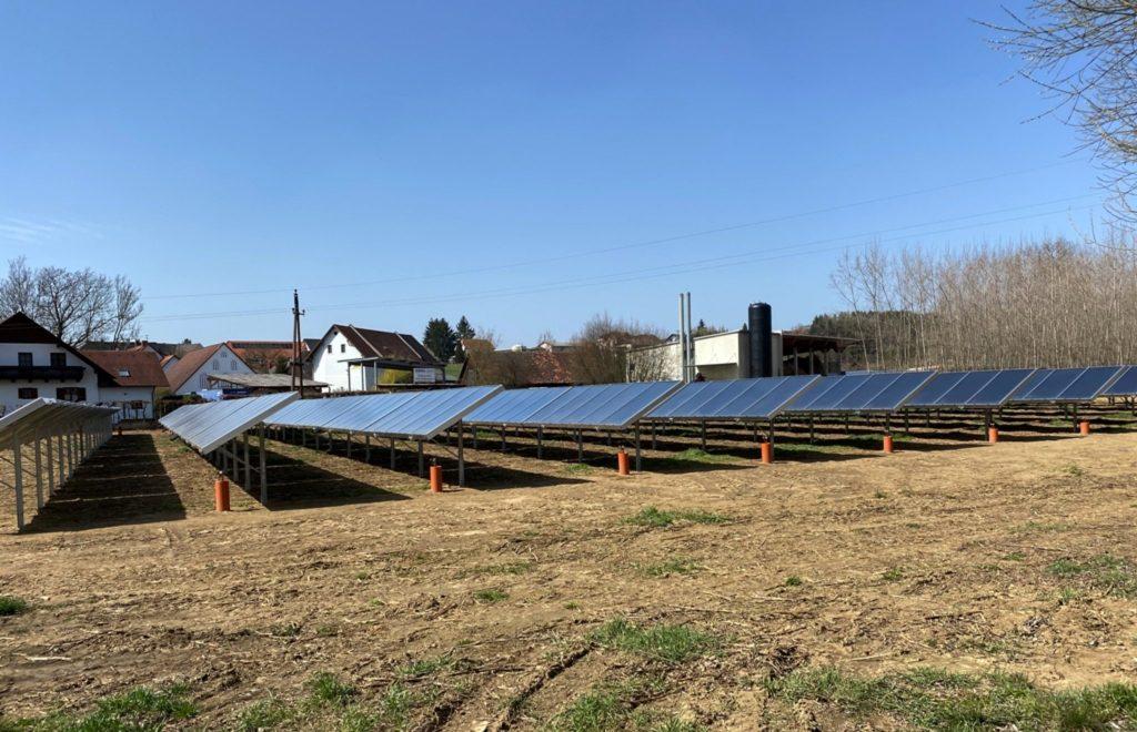 Solarheizwerk mit powerSol Kollektoren von Gasokol in St. Ruprecht