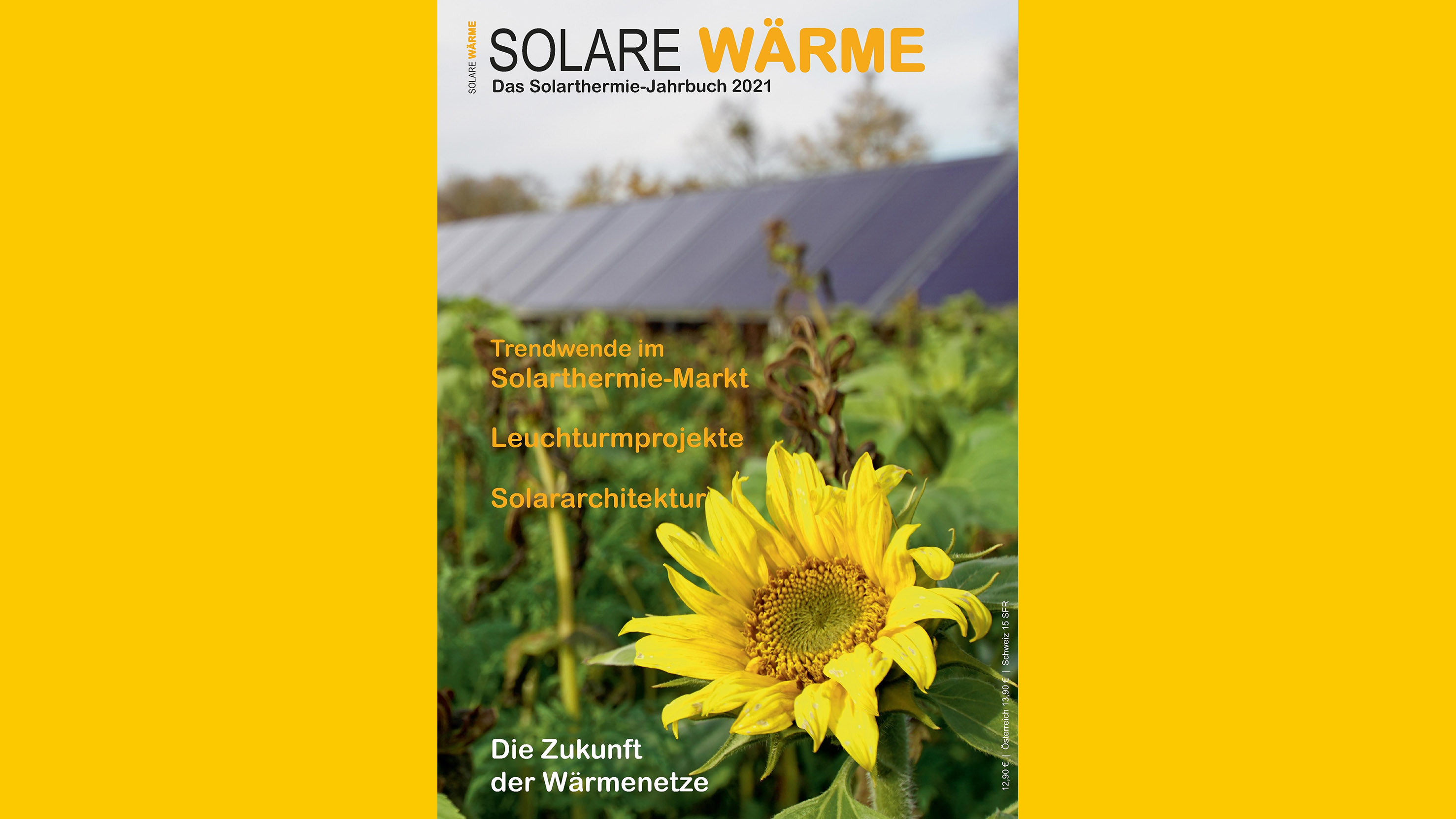 Cover Solarthermie-Jahrbuch 2021